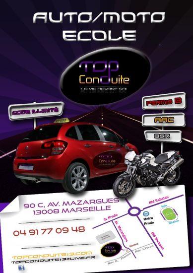 Permis A 1 Euro Par Jour La Capelette Marseille 13010 Top Conduite
